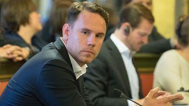 David Weytsman, chef du groupe MR au conseil communal de Bruxelles