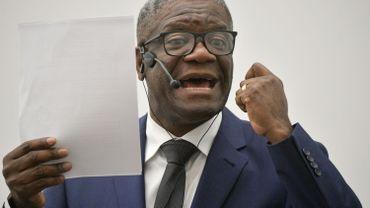 Le Dr. Mukwege demande un soutien militaire à l'Europe pour sécuriser l'est du Congo