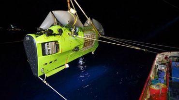 James Cameron a plongé au plus profond du Pacifique