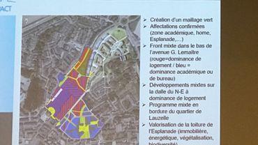 Louvain-la-Neuve: la Ville dévoile ses intentions pour l'avenir de l'Esplanade et des environs