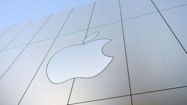Logo Apple le 22 septembre 2017 à San Francisco, Californie