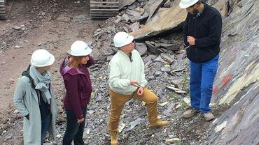 Ardennes-Coticule assure l'exploitation de la carrière et de la mine de schiste