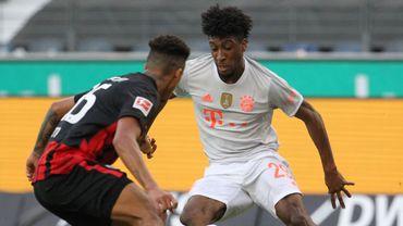 Le Bayern Munich a encore perdu des points en Bundesliga. Francfort s'est imposé 2-1 contre le géant d'Allemagne.