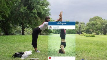 L'envers du décor des photos sur Instagram