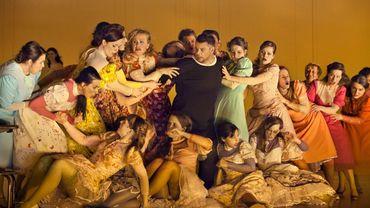 les femmes fleurs dans Parsifa  m e s Tatjana Gürbaca