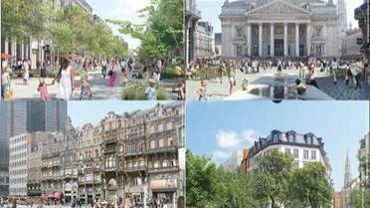 Le projet du piétonnier de la Ville de Bruxelles