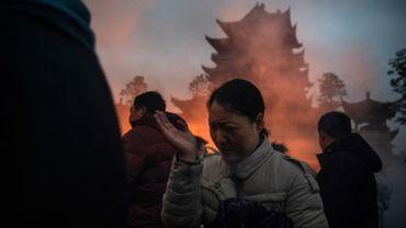 Des milliers de Chinois en pèlerinage chez le Dieu de la Richesse