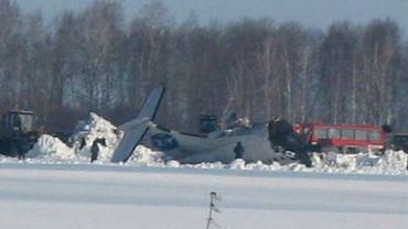 Un avio s'écrase avec 43 personnes à bord