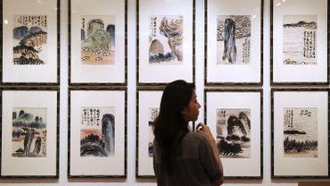Le peintre autodidacte Qi Baishi (1864-1957) devient ainsi le premier artiste chinois à dépasser le cap des 100 millions de dollars pour une de ses oeuvres.