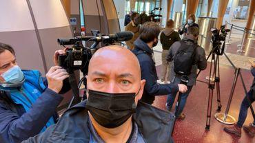 Jean-Christophe Willems, un brin étonné, à son arrivée au lieu de rendez-vous pour son reportage
