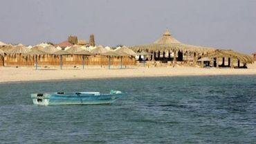 Un resort sur la plage dans le Sinaï en Egypte
