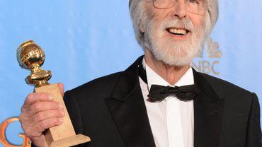 Michael Haneke a souri lors de la réception de son Golden Globe du meilleur film étranger