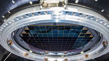 La future caméra de l'observatoire Vera C. Rubin (Chili) contiendra 189 capteurs individuels qui produiront des images de 3.200 mégapixels.