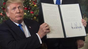 Reconnaissance de Jérusalem comme capitale: une promesse de Trump à ses électeurs évangéliques