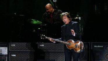 Paul McCartney en concert à Mexico (mai 2012)