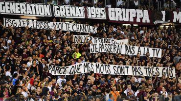Metz-Paris SG brièvement interrompu pour une banderole jugée homophobe