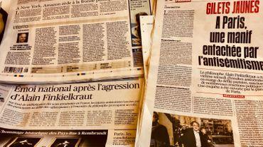 La presse du 18 février
