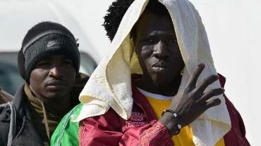 Des migrants à Lampedusa (archive)