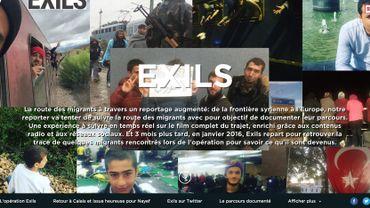 """""""Exils"""" est le gagnant de la catégorie web au Prix Italia"""