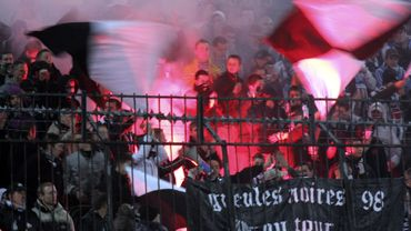 Supporters FC Brussels-Club de Charleroi