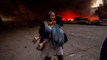 Grèce : nouvel incendie dans le camp migrants de Moria