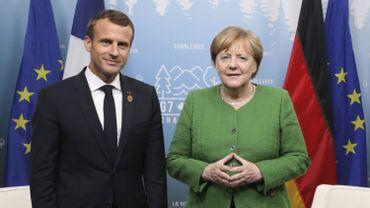 """Position commune sur le commerce lors du G7 mais """"ça ne règle pas tout"""" selon Macron"""