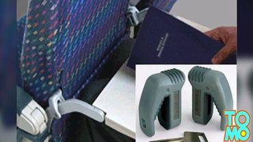 Un gadget pour empêcher son voisin de devant d'incliner son siège dans l'avion