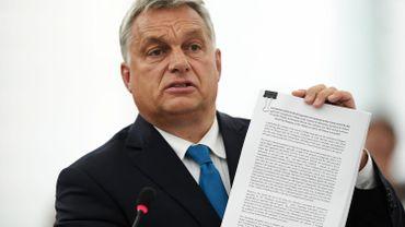 """Viktor Orban juge le vote du Parlement européen """"sans danger"""" pour la Hongrie"""