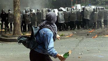 Lors du G8 de 2001, de nombreux heurts violents avaient opposés manifestants et policiers dans la ville de Gênes.