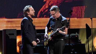 Eddie Vedder et Stone Gossard