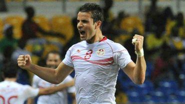 Khaled Korbi a ouvert le score pour la Tunisie