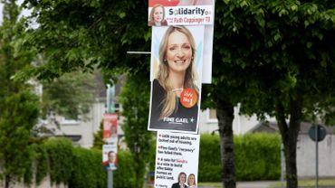 Une candidate du Fine Gael à Dublin.