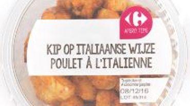 Rappel de cinq repas au poulet de Goumanisto possiblement contaminés à la listeria
