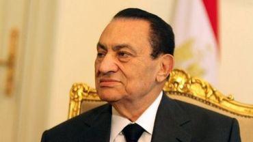 Photo datée du 8 février 2011 de Hosni Moubarak au Caire