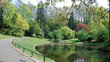 Le parc Josaphat: des étangs, et de nombreuses espèces d'arbres