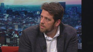 Joris Van der Aa, journaliste spécialisé dans les affaires judiciaires pour la Gazet van Antwerpen.