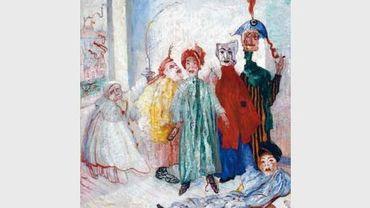 James Ensor, Les Masques singuliers 1892