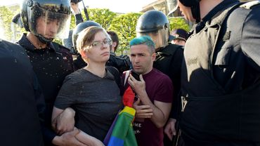 Russie : quatre interpellations lors d'une action LGBT