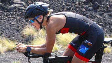 Alexandra Tondeur, 6ème de l'Ironman de Marbella.