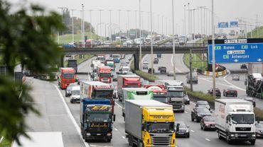 Gros embarras de circulation sur le ring de Bruxelles ce mercredi matin
