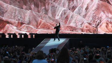 U2 se produira en deuxième partie de soirée, à 22H20 locales (01H20 GMT) au lieu de 21H00.
