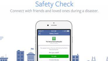Safety Check de Facebook