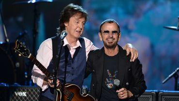 Paul McCartney et Ringo Starr