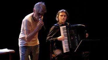 William Cliff avec Frédéric Daverio sur la scène du 140