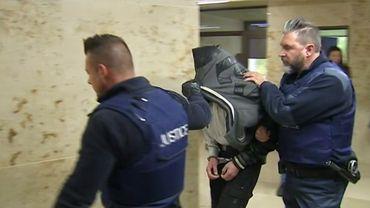 Arrestation d'un des membres de la bande incriminée dans le meurtre de Valentin Vermeesch.