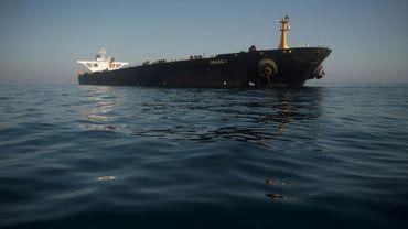 Le pétrolier iranien Grace 1 au large de Gibraltar, le 15 août 2019