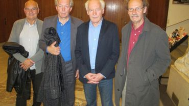 Luc Jabon, Luc Dardenne, Jean-Pierre Dardenne et Alain Marcoen au FIFF