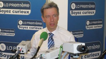 """Pour Geert Noels, """"il faut reculer pour mieux avancer"""""""