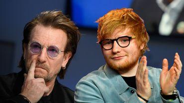 Ed Sheeran va battre U2