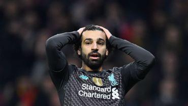 L'armada offensive de Liverpool muette... seulement pour la 3e fois cette saison